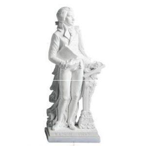 Mozart_aus Marmor bei Kaiser-Stuck
